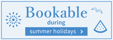 Search result: Bookable during summer holidays