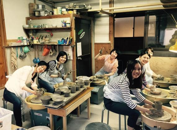 Pottery Class in Naramachi