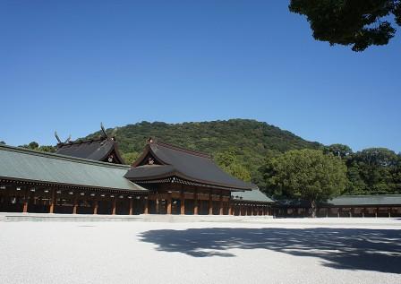 橿原神宮「特別参拝」