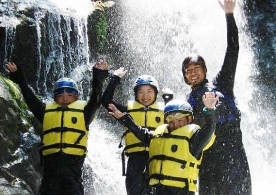 Canyoning Tour in Tenkawa-mura