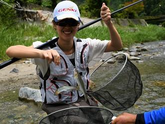 Sweetfish (Ayu) Fishing