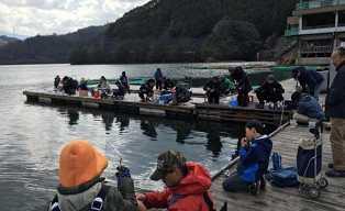 日本最南端でワカサギ釣りを楽しもう!【釣竿レンタル・エサ付】