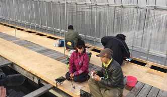 日本最南端!手ぶらでワカサギ釣り【あったかドーム内で釣竿レンタル・エサ付】